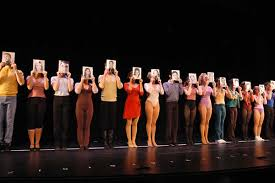 A Chorus Line resume line up
