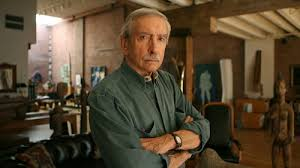 Edward Albee at home