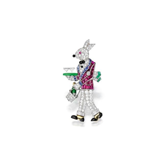 Rabbit Waiter Jewels