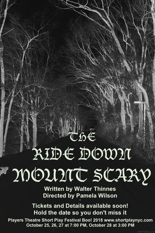 Ride Down Mt. Scary poster Early