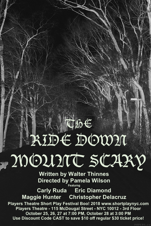 The Ride Down Mount Scary POSTER