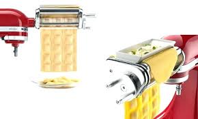 Kitchenaid Ravioli Maker two views