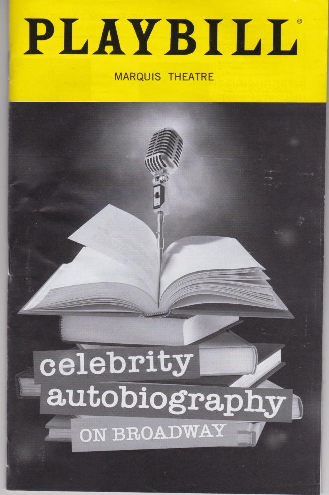 BWAY Celebrity Autobiography on Broadway